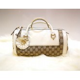 GUCCI Trophy Medium Boston Bag