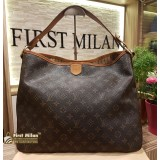 LOUIS VUITTON Monogram Delightful MM Bag