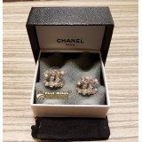 CHANEL Earrings Double CC