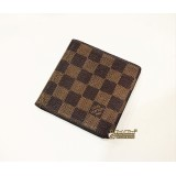 LOUIS VUITTON Damier Ebene Porte Billets Bifold Wallet