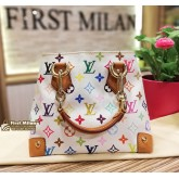 LOUIS VUITTON Monogram Multicolor Audra Handbag