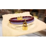 LOUIS VUITTON Vernis Leather Keep It Twice Bracelet