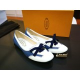 TOD'S Denim Flat Shoes (Size:37)