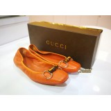 GUCCI Bamboo Flat Shoes (Size:361/2)