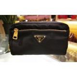 PRADA Nylon Small Cosmetic Pouch Bag