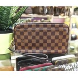 LOUIS VUITTON Damier Ebene Pochette Paul Clutch