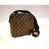 LOUIS VUITTON Damier Ebene Olaf PM