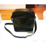 PRADA Full Leather Small Crossbody Bag