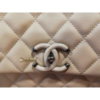 CHANEL Caviar With Chain Around Bag