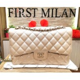 CHANEL Pearl Colour Caviar Double Flap