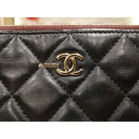 CHANEL Lambskin Pouch Bag