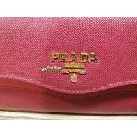 PRADA Saffiano Two-Tone Wallet