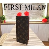 LOUIS VUITTON Monogram Brazza Wallet
