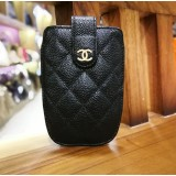 "CHANEL Caviar Quilted ""CC"" Phone Slip Case"