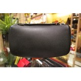 LOUIS VUITTON Taiga Leather Organizer Black Atoll