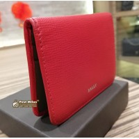 BALLY Red Card Holder With 6 Slot