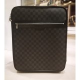 LOUIS VUITTON Damier Graphite Pegase 45 Luggage Bag