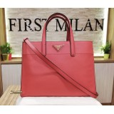 PRADA Tamaris Saffiano Soft Leather Tote Bag