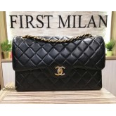 CHANEL Medium Vintage Lambskin Flap Bag