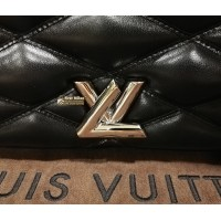 LOUIS VUITTON Lambskin Malletage Go-14 MM Bag