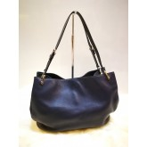 TOD'S Navy Blue Shoulder Bag