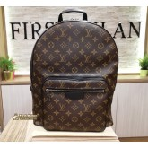 LOUIS VUITTON Monogram Macassar Josh Backpack