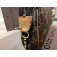 LOUIS VUITTON Monogram Canvas Eva Clutch Bag