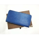 LOUIS VUITTON Epi Leather Zip Around Wallet