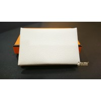 HERMES Calvi Card Holder In Epsom