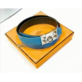 HERMES Collier de Chien CDC Belt (Size:95)
