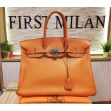 HERMES Birkin 35 In Togo Leather Bag