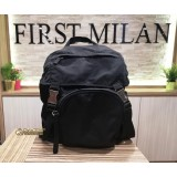 PRADA Nylon Leather Backpack