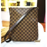 LOUIS VUITTON Damier Ebene Musette Crossbody Bag