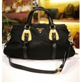 PRADA Tessuto Nylon Top Handle Bag