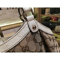 GUCCI GG Canvas Sukey Large Bag