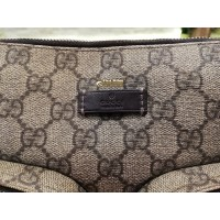 GUCCI Coated Canvas Front Pocket Messenger