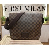 LOUIS VUITTON Damier Ebene Canvas Brooklyn MM