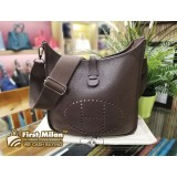 HERMES Evelyne Clemence Leather PM Bag