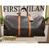 LOUIS VUITTON Monogram Keepall 55 Bag
