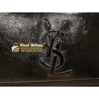 YVES SAINT LAURENT Belle De Jour Black Clutch