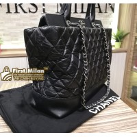 CHANEL Quilted Classic Executive 2-Way Tote Bag