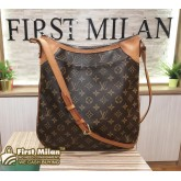 LOUIS VUITTON Monogram Odeon MM Crossbody Bag