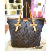 LOUIS VUITTON Monogram Canvas Palermo GM (W/O Strap)