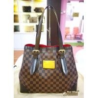 LOUIS VUITTON Damier Ebene Hampstead MM