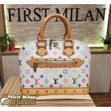 LOUIS VUITTON Monogram Canvas Multicolore Alma Bag