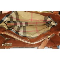 BURBEERY Full Leather Two Way Bag