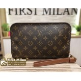 LOUIS VUITTON Monogram Orsay Clutch Bag