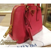 PRADA Saffiano Lux Leather Mini Bag