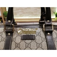 GUCCI GG Canvas Carryall 40 Duffle Bag