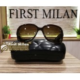 CHANEL Brown Sunglasses For Womens